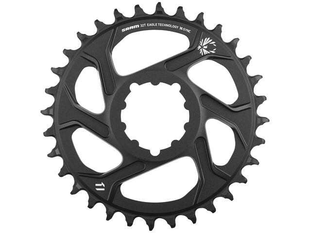 SRAM X-Sync 2 kettingblad Direct Mount/aluminium 12-speed zwart